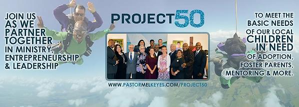 Pastor Mel Keyes - Project 50 - Joshua H