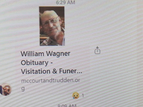Farewell Mr. Wagner