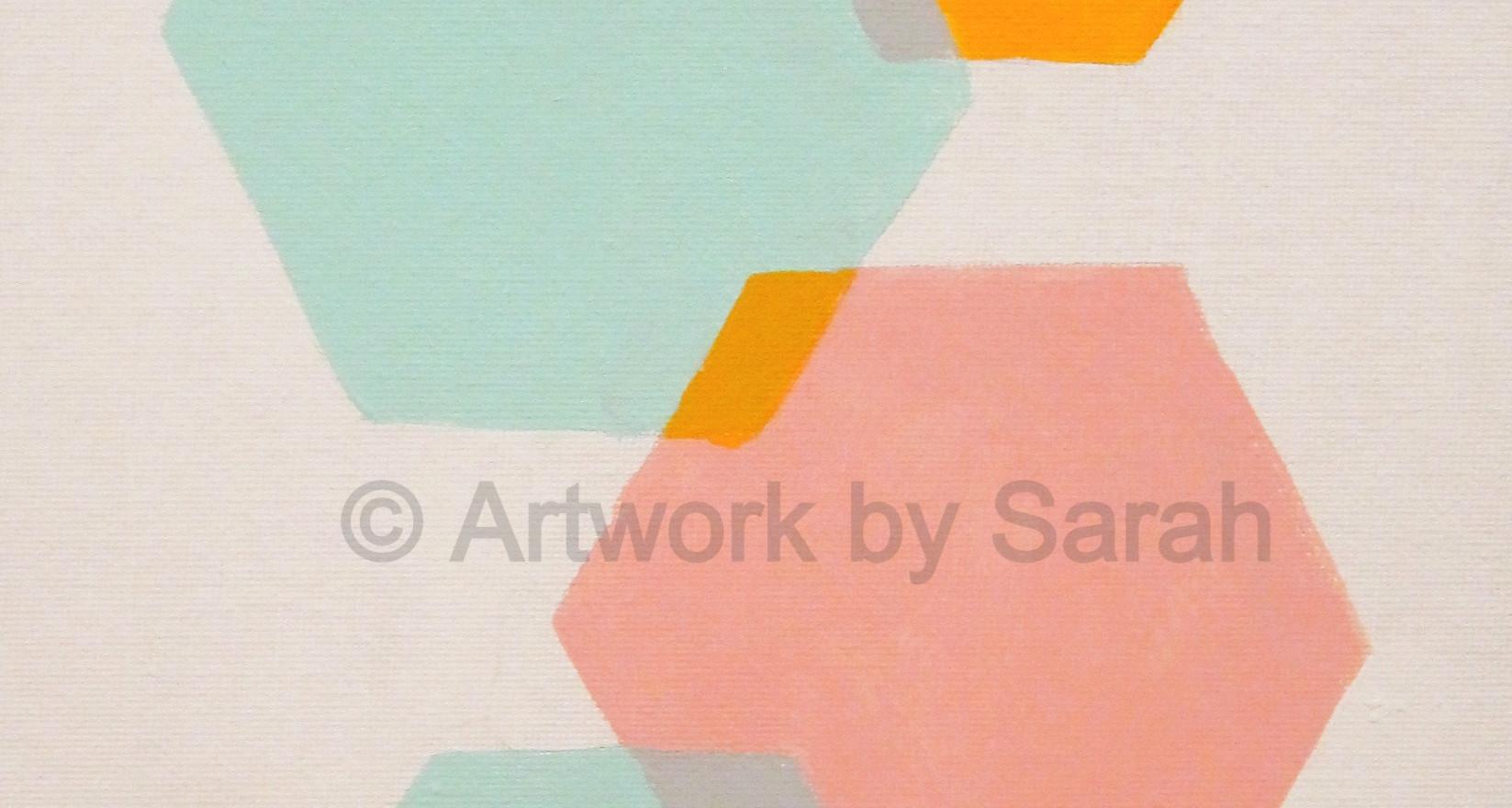 Geometric Colors #3: Hexagon Mix
