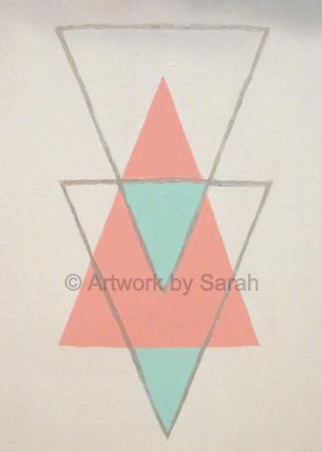 Geometric Colors #1: Triangle Tangle