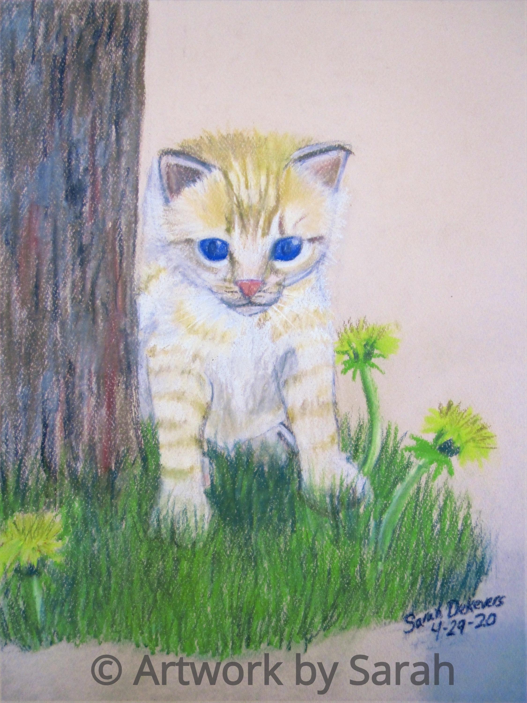 A Kitten's Springtime