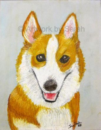 Puppy Portrait #4: Ezri
