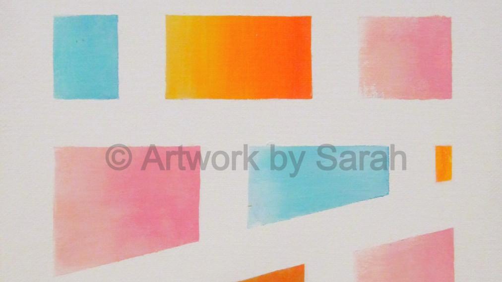 Geometric Colors #2: Ombre Bricks