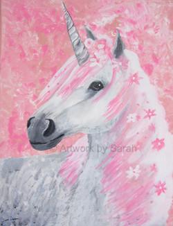 Portrait of a Pink Unicorn