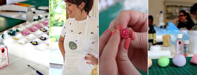 flowers & swirls cupcake class