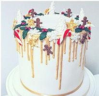 Festive Drip Cake Class
