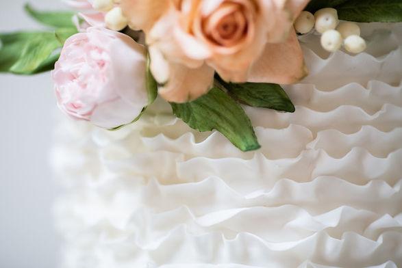 Ruffles & Pearls Cake Class