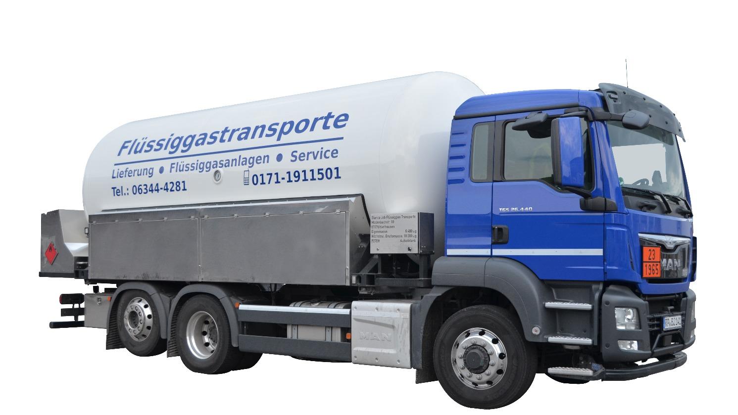 JOB FLÜSSIGGAS TRANSPORTE