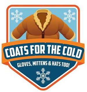 Taking Donations for Coats for the Cold