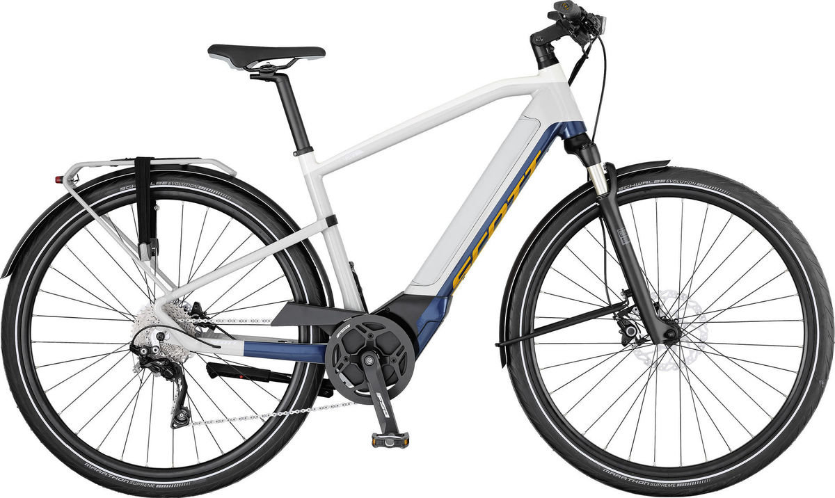 SCOTT e-Silence 20 Brose 590wh battery | bikes-and-barbers