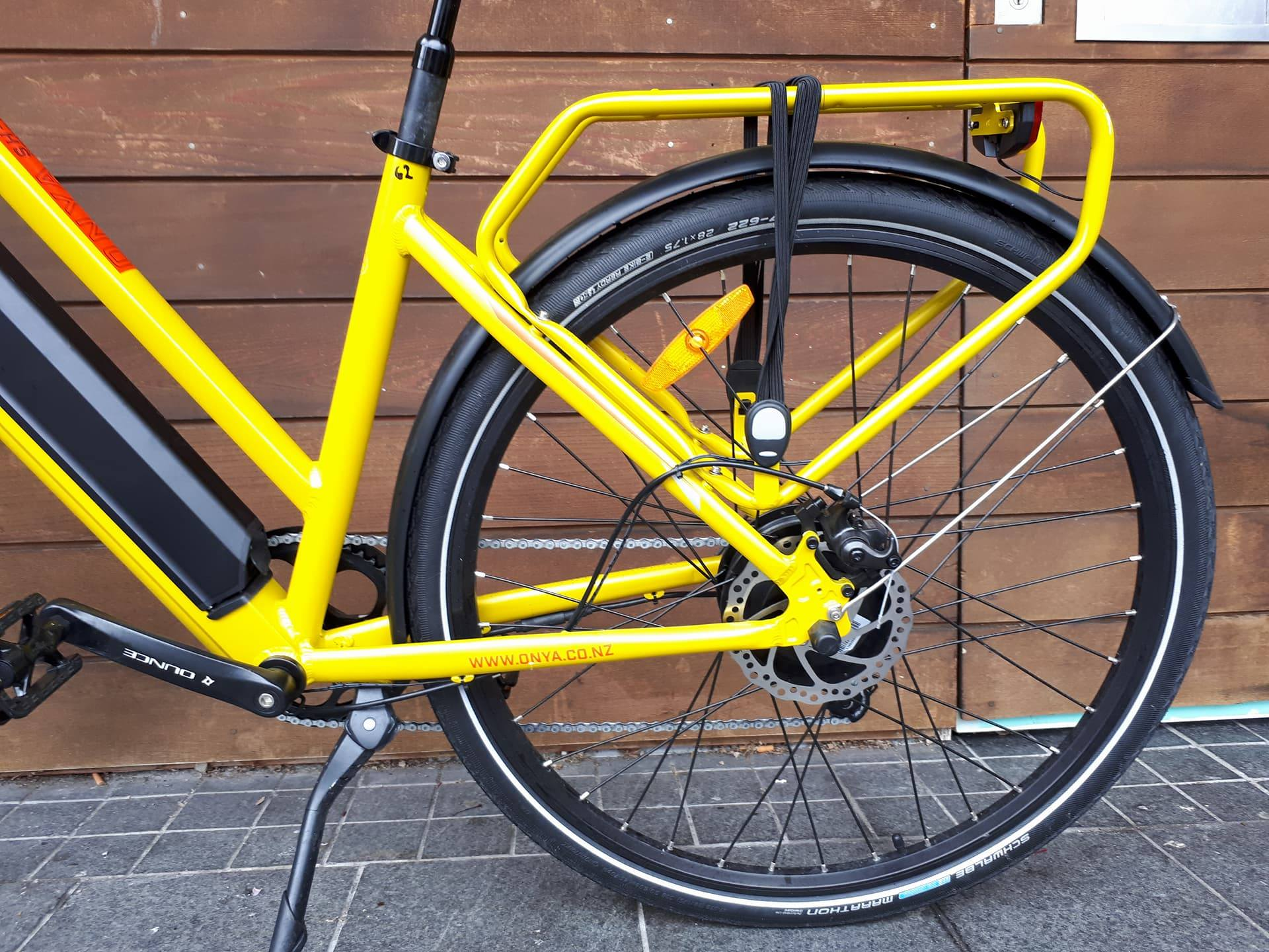 E bike ONYA SH1 Yellow