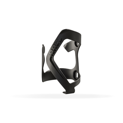 PRO BOTTLE CAGE - ALLOY SIDE ENTRY - L BLACK / CLEAR