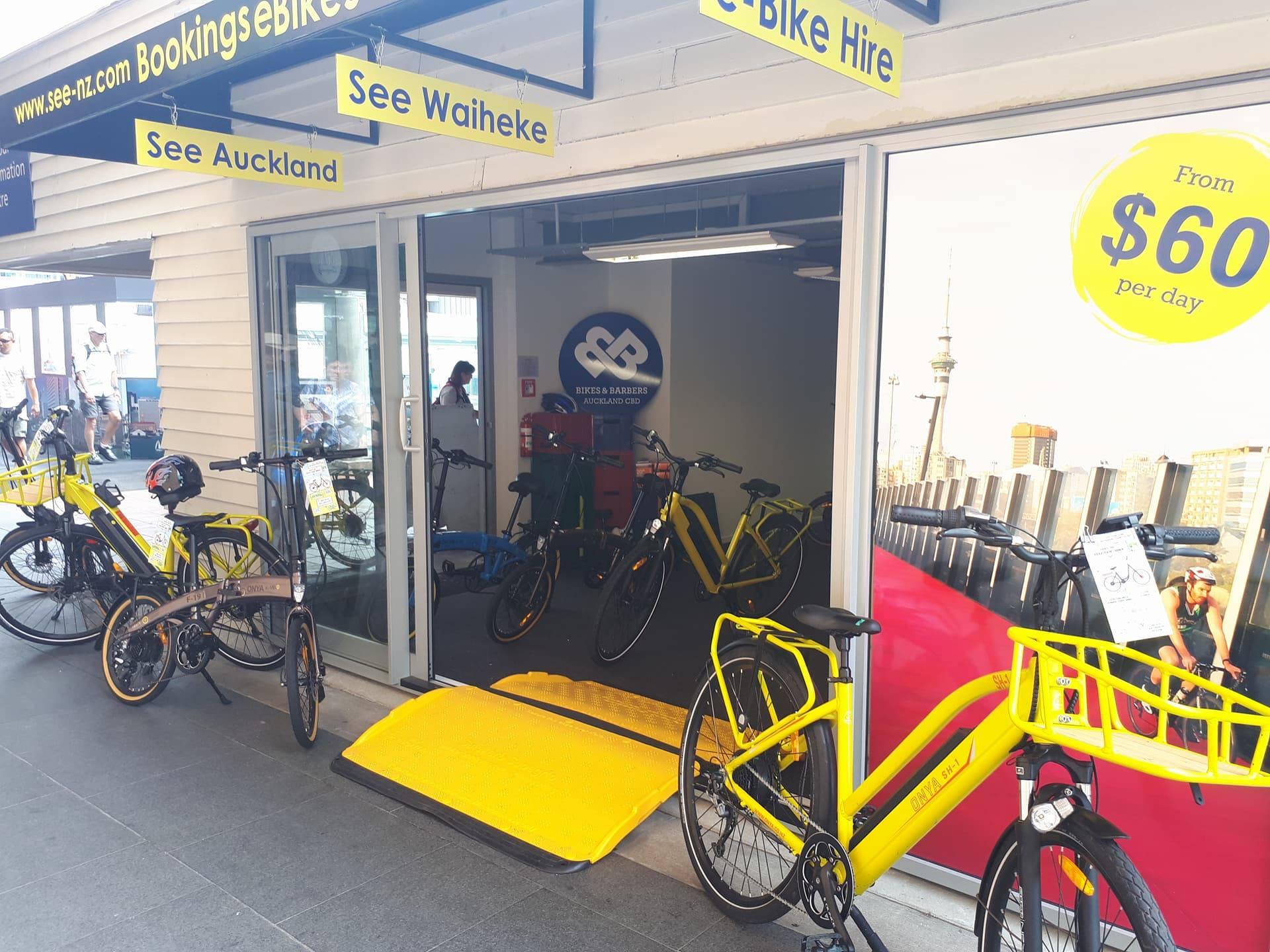 Visit Us Ecyclesnz Electric Bike Rental Waiheke Island