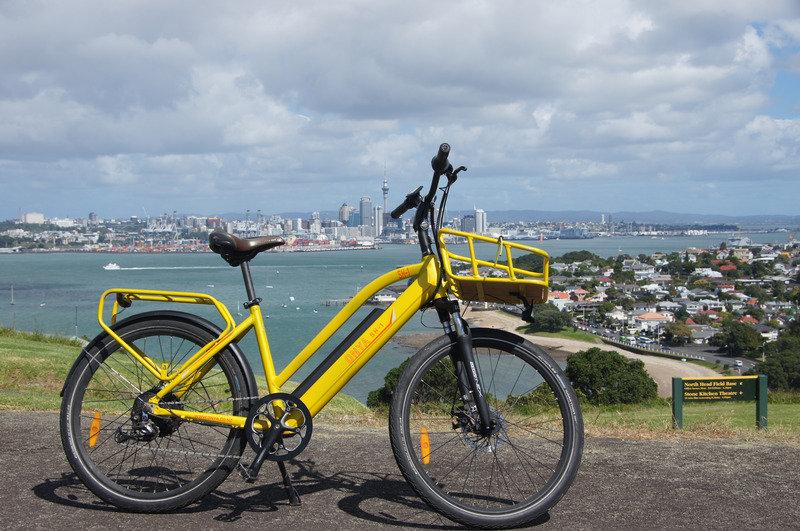 Standard E-Bike on Waiheke