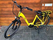 Yellow TUI EMAX Electric Bike