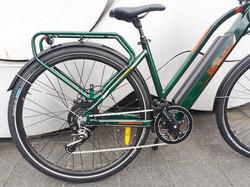 E bike ONYA SH1 Green Back