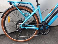 ONYA SH1 Blue Rear Hub