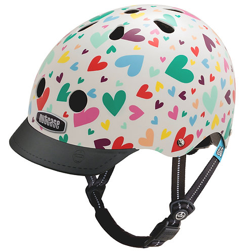 NTC HELMET LITTLE-NUTTY HAPPY HEARTS XS By Nutcase