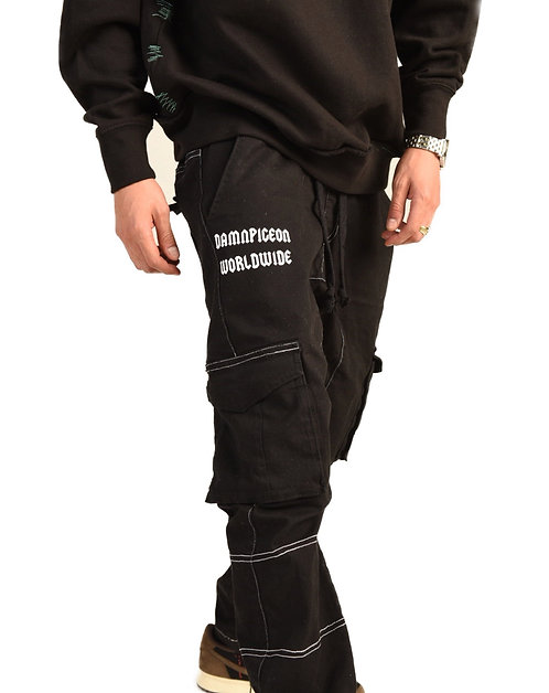 Basic cargo thread pants