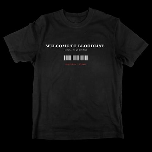 BLOODLINE T-shirt. limited run