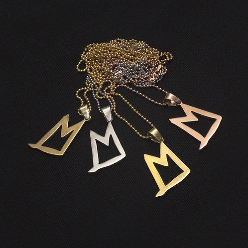 "DVMN ""M lyfe"" pendant"