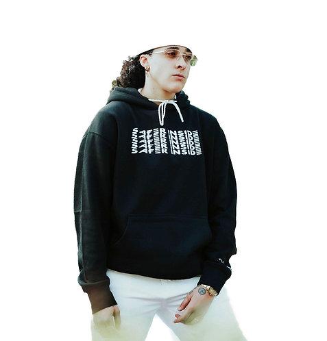 SAFER INSIDE multi logo hoodie