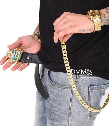 "DVMN ""bust down"" pocket chain"