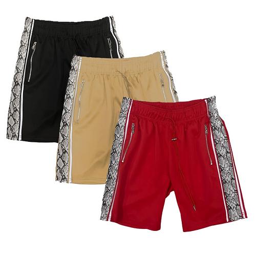 Snakeskin shorts