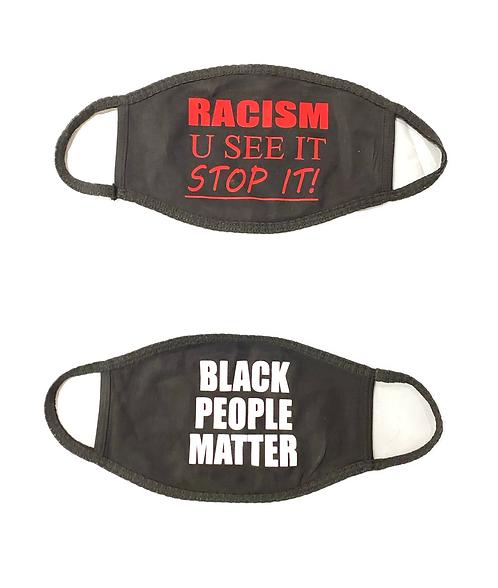 STOP RACISM [MASK PAK]