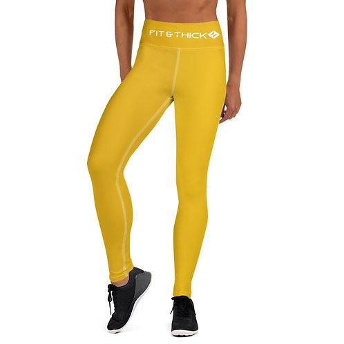 Energy Yellow Yoga Leggings