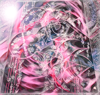 Light Language Art Return of Isis