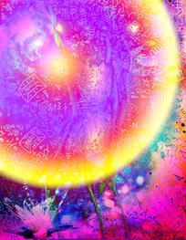 Light Language Art ~ Sphere Return