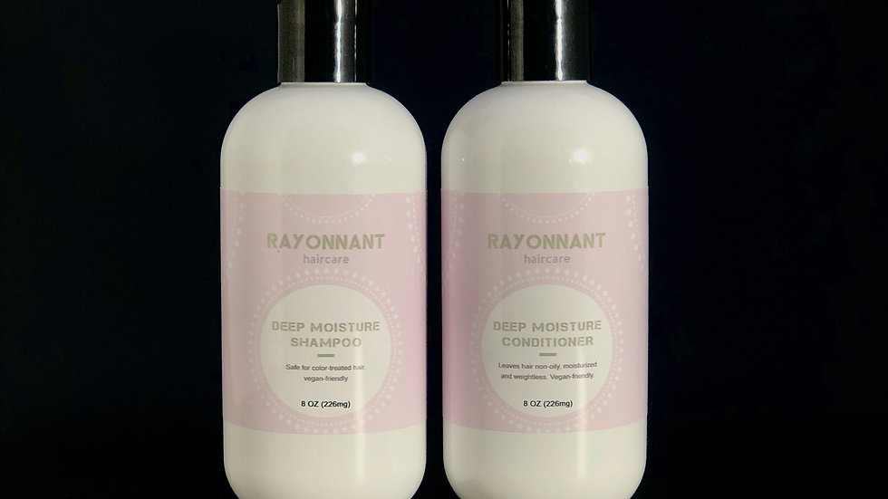 Deep Moisture shampoo and conditioner set 8oz