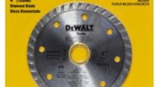 """Disco diamantado de 4"""" marca Dewalt"""