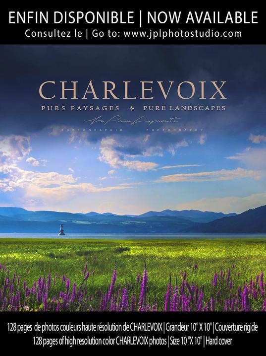Livre sur Charlevoix