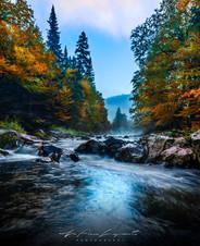 La rivière cachée...