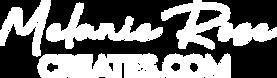 Melanie rose logo - white.png