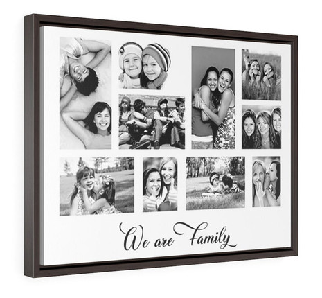 Personalized Framed Canvas