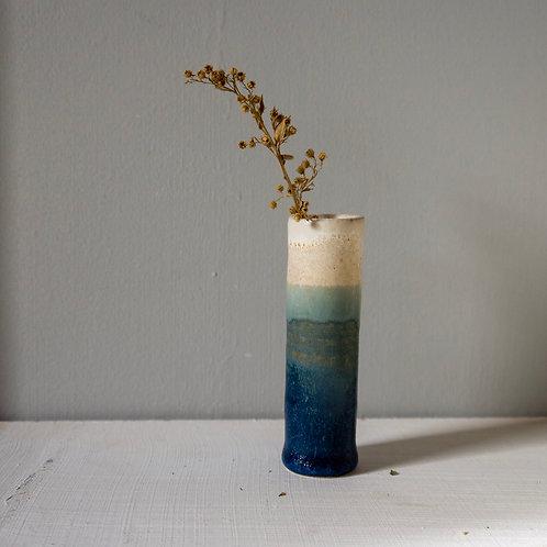Bud Vase   Deep Blue
