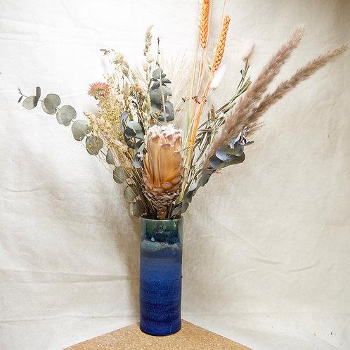 Horizon Vase l Volcanic blue