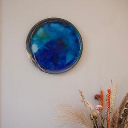 Glass Infused Wall plate | kintsugi