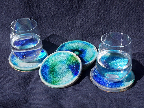Glass infused Coasters