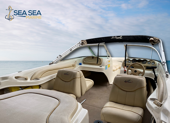 Sea Ray Bowrider & Sales Trailer