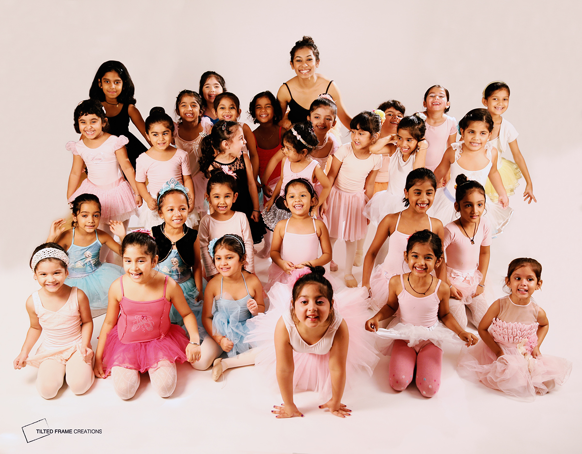 Pre-Ballet Photoshoot