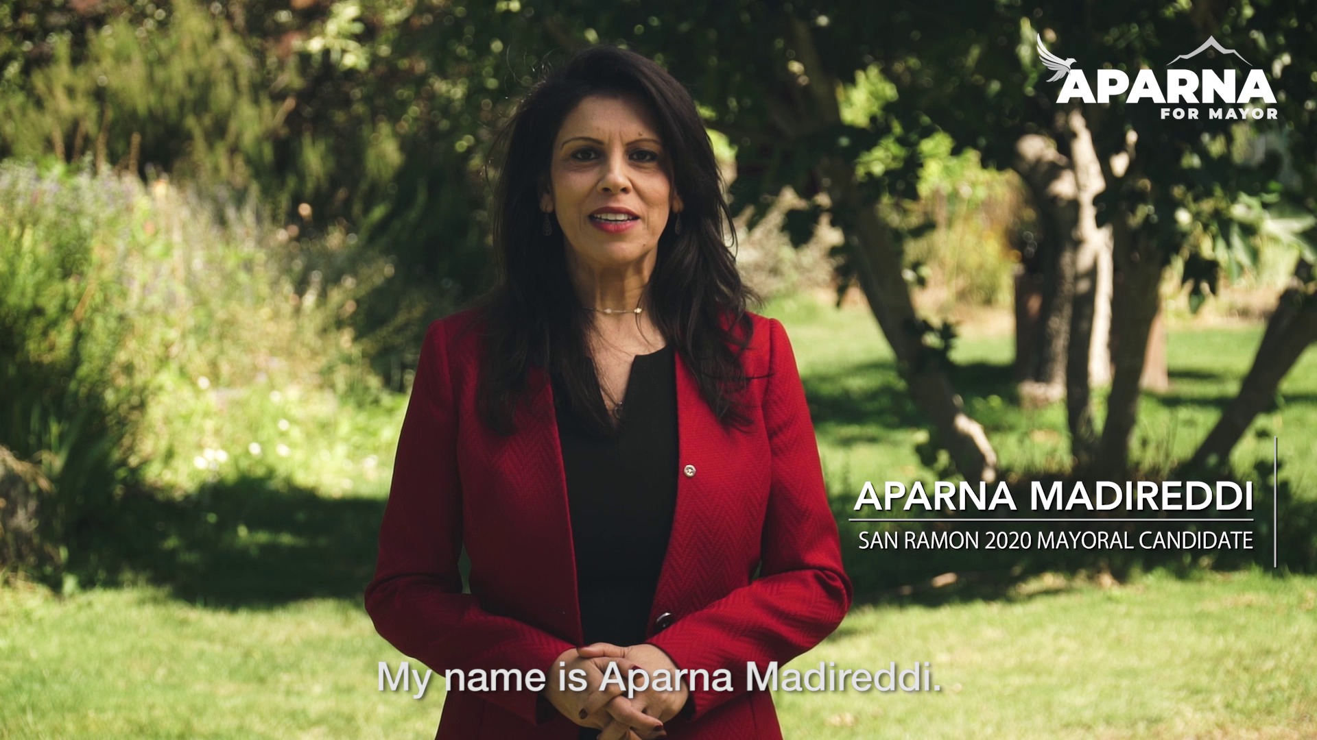 Aparna Madireddi for San Ramon Mayor