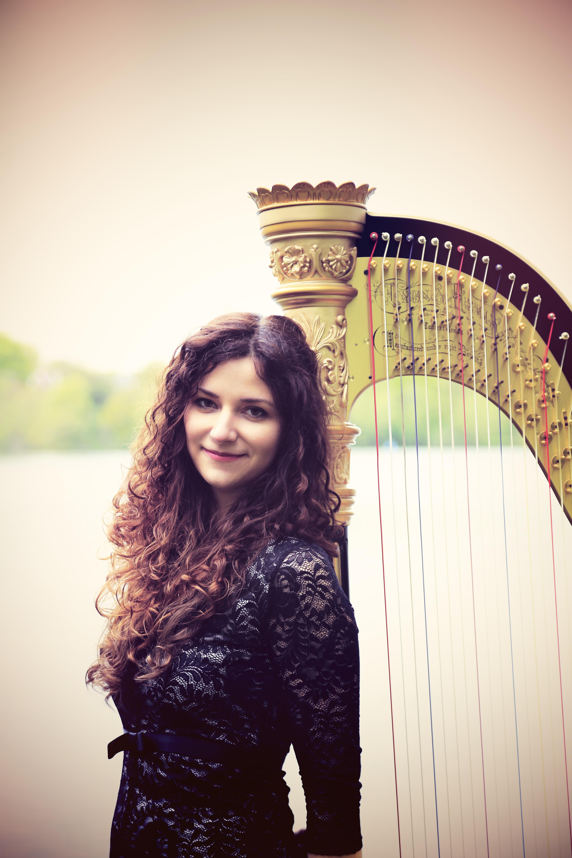 Rita Schindler, harpist