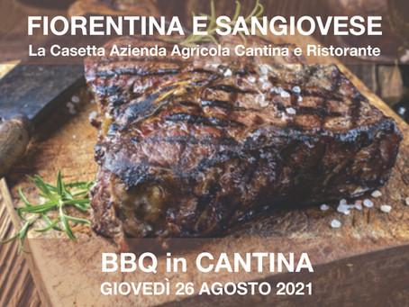 Serata Fiorentina - BBQ in Cantina