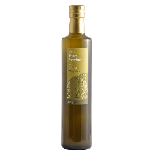 Olio extra vergine di oliva bottiglia da 0,75 Cl