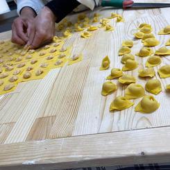 Tortellini by grandma Fernanda
