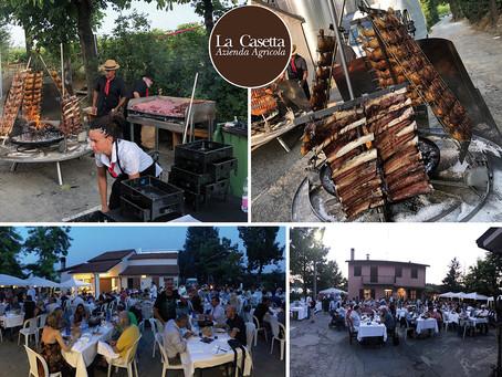 Giovedì 6 Agosto - Cena in cantina con l'Asado argentino
